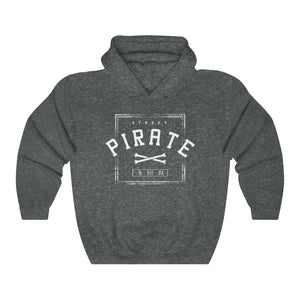 PIRATE VIP x BLACK SKULL - STREET PIRATE HOODIE