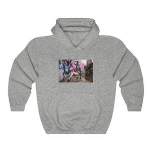 Skies Suicide - Graffiti Hooded Sweatshirt