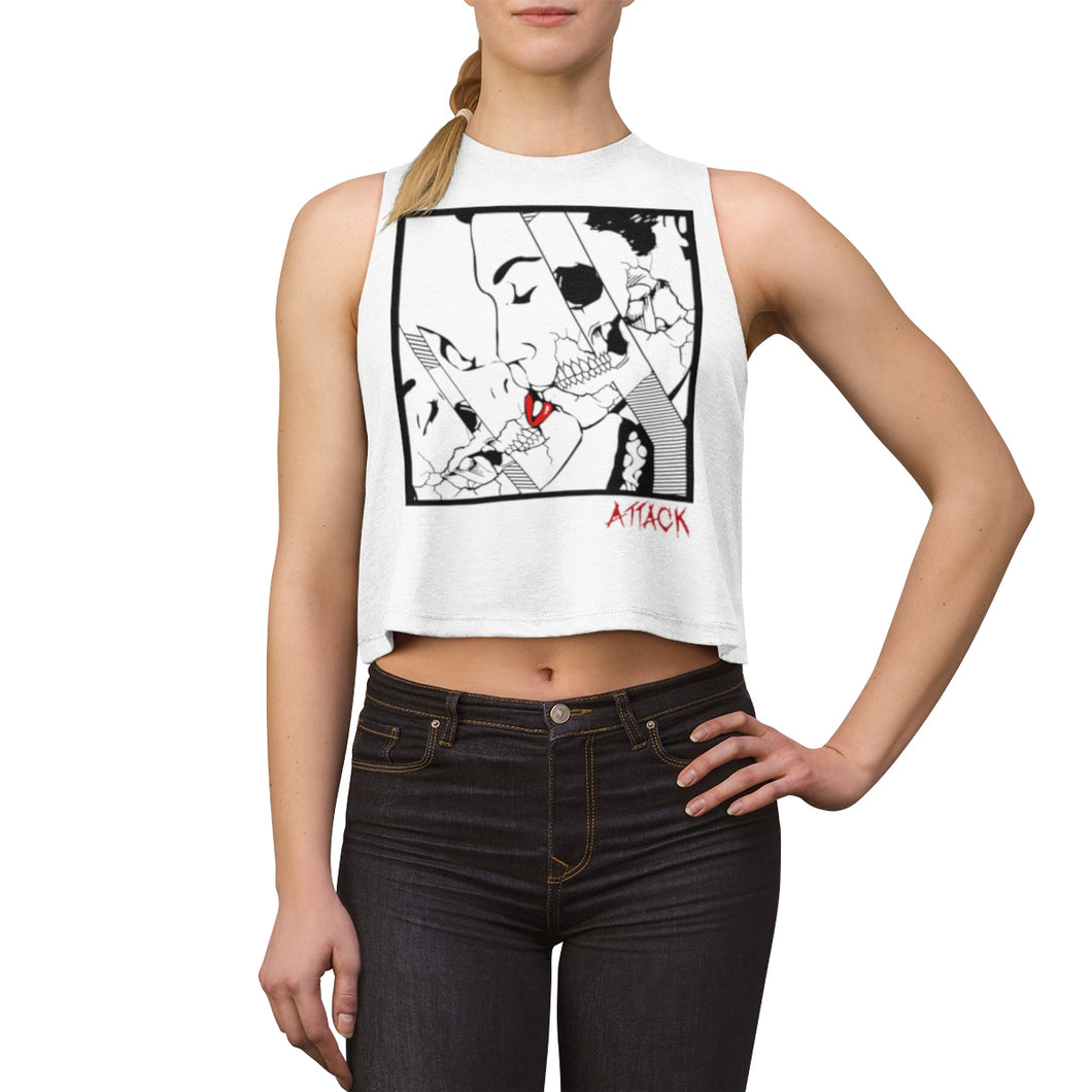 Danny Attack - Album Cover Sleeveless Crop Top