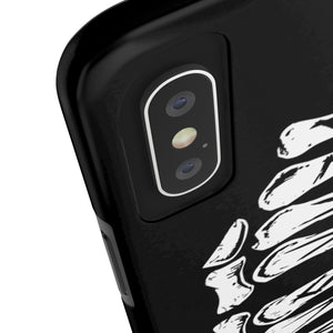 BLACK SKULL - @BLAKSKVL - Knuckles Phone Case