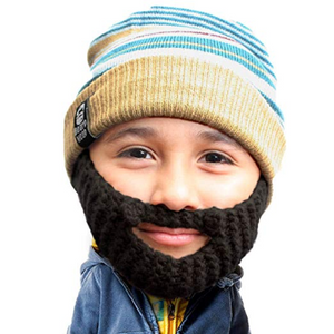 c7c0adfcd3e Beard Head Kid Roro Beard Beanie - Knit Hat w Fake Beard for Kids ...