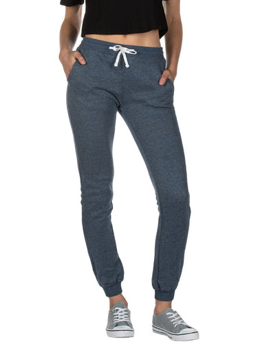 Ladies Navy Skinny Sweats