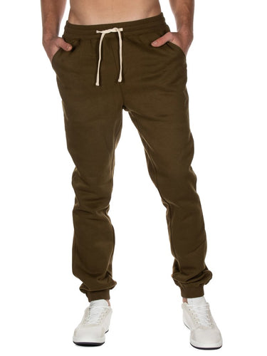 Green Fleece Joggers
