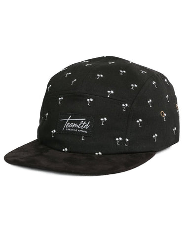 Black palm 5 Panel Lid