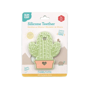 Bumkins Cactus Silicone Teether