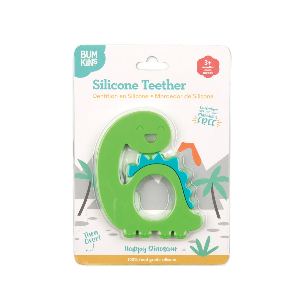 Bumkins Dino Silicone Teether