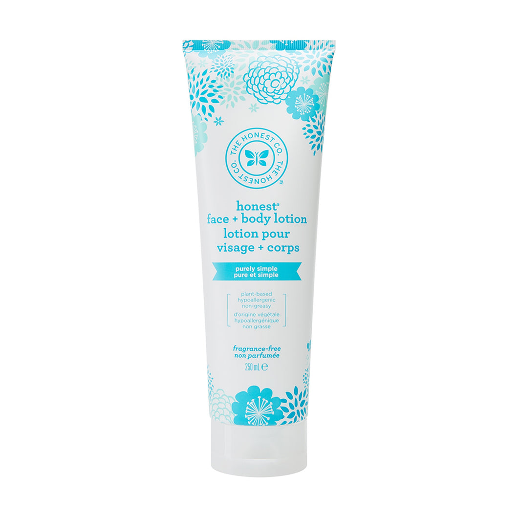 Honest Company Face/Body Lotion - Unscented