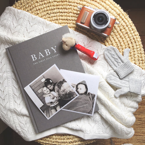 Baby Journal - From First to Five Years
