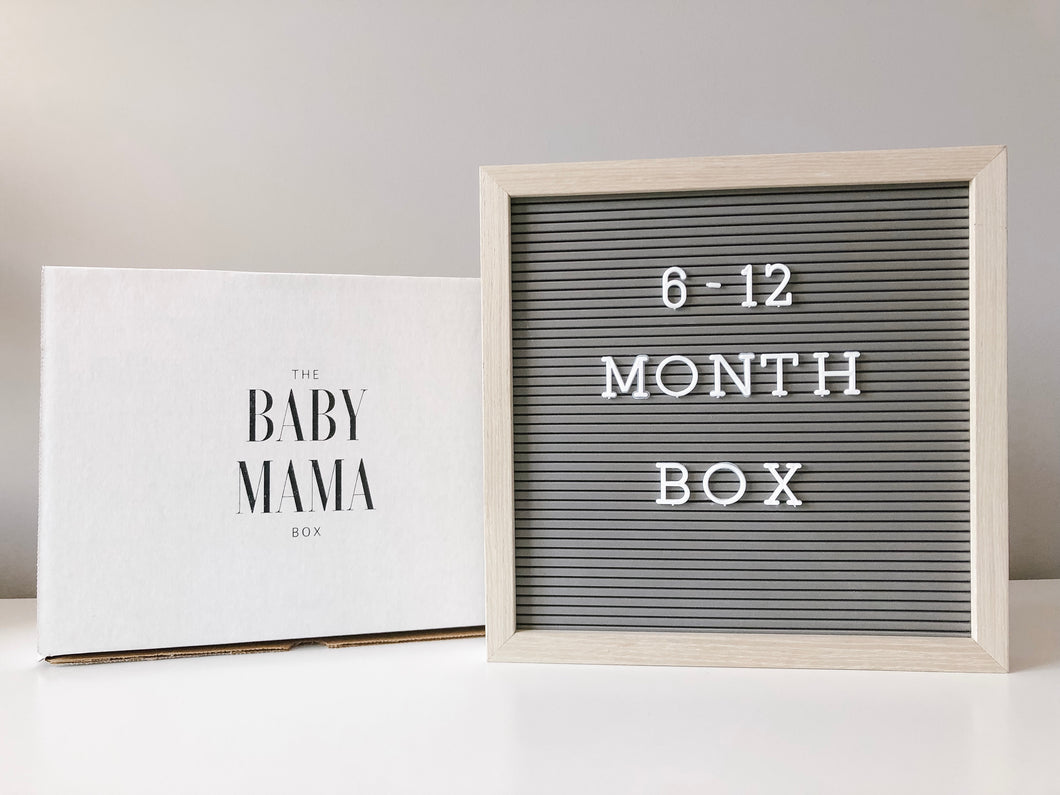 6-12 Month Box - Girl