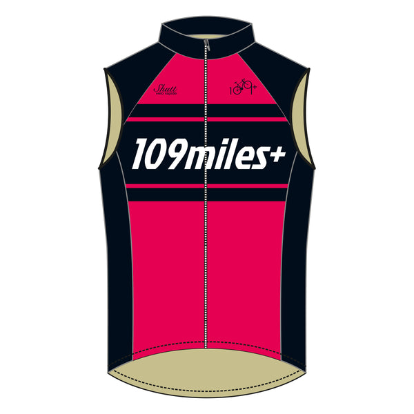 109miles+ Club Jersey & Gilet Bundle