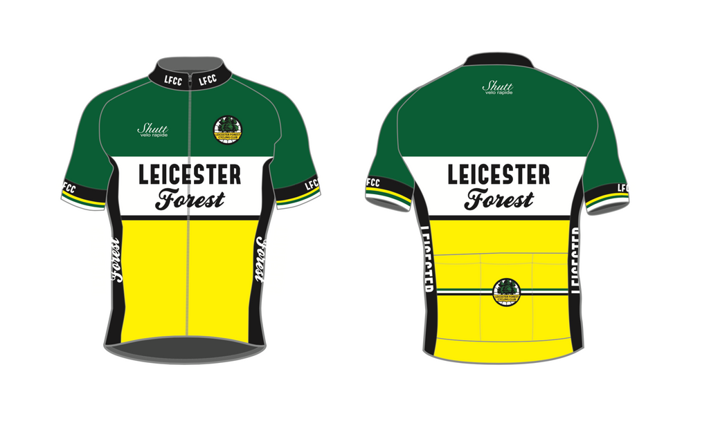 Leicester Forest CC Sportline Sportswool Jersey