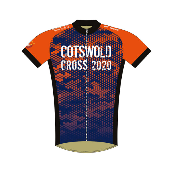 Single Cotswolds Cross Sportline Classic Short Sleeve Jersey (NO NAME)