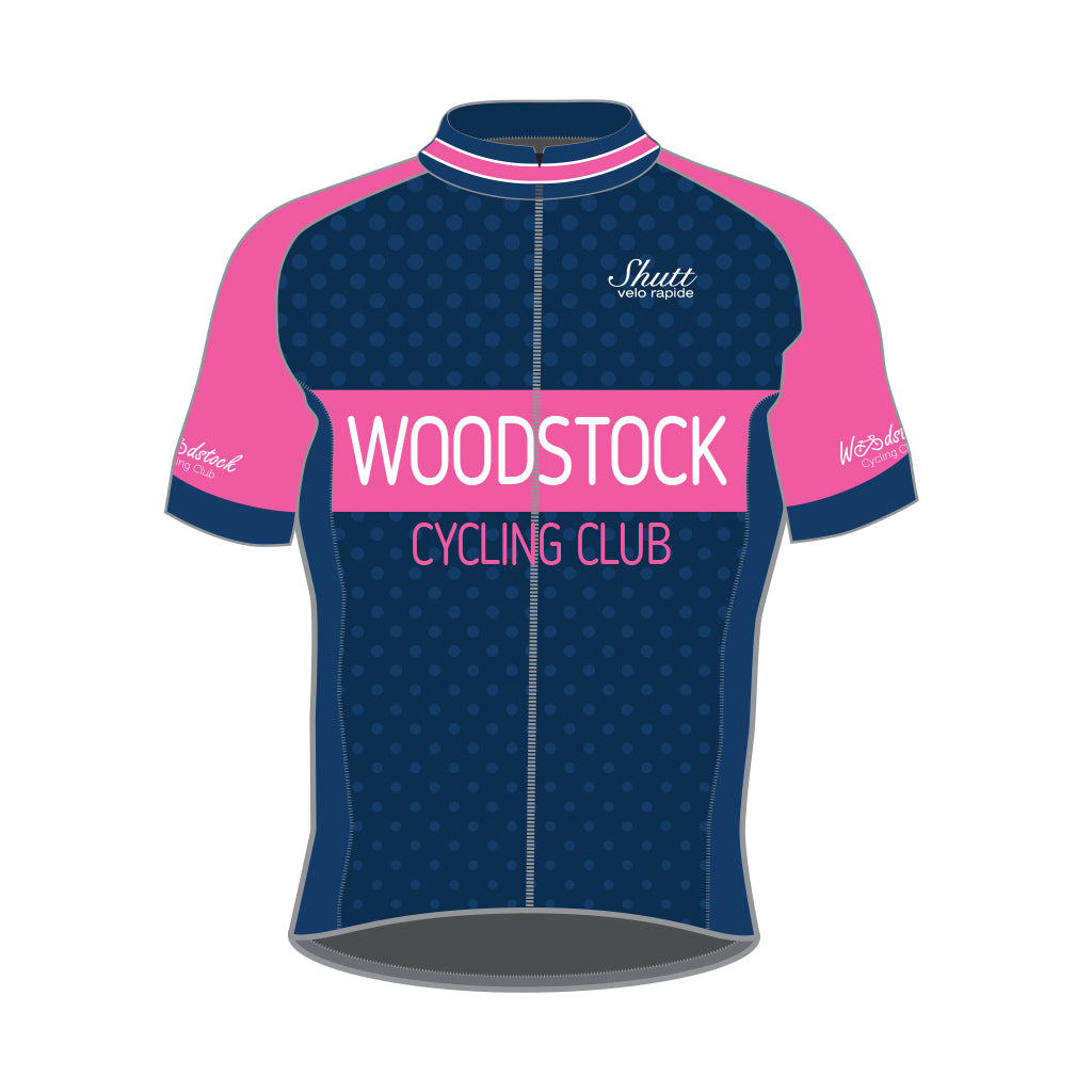 Woodstock Cycling Club Sportline Short Sleeve Jersey