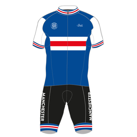 Manchester Wheelers Proline Short Sleeve Race Suit