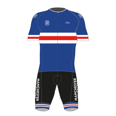Manchester Wheelers Proline Short Sleeve Skinsuit
