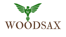 Logo Woodsax® - wooden watches & wooden sunglasses