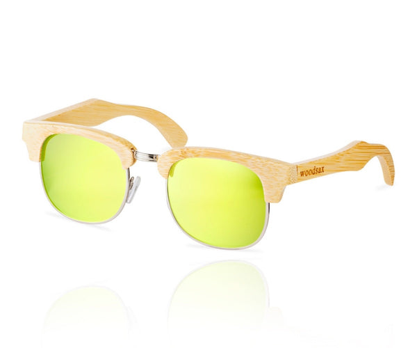 Rimless - Wooden sunglasses - Woodsax