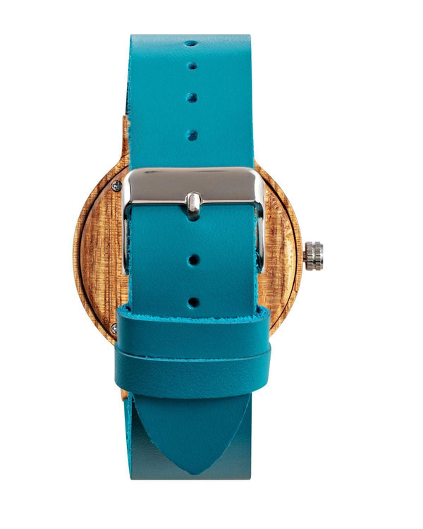 Azur Turquoise - eco friendly watches