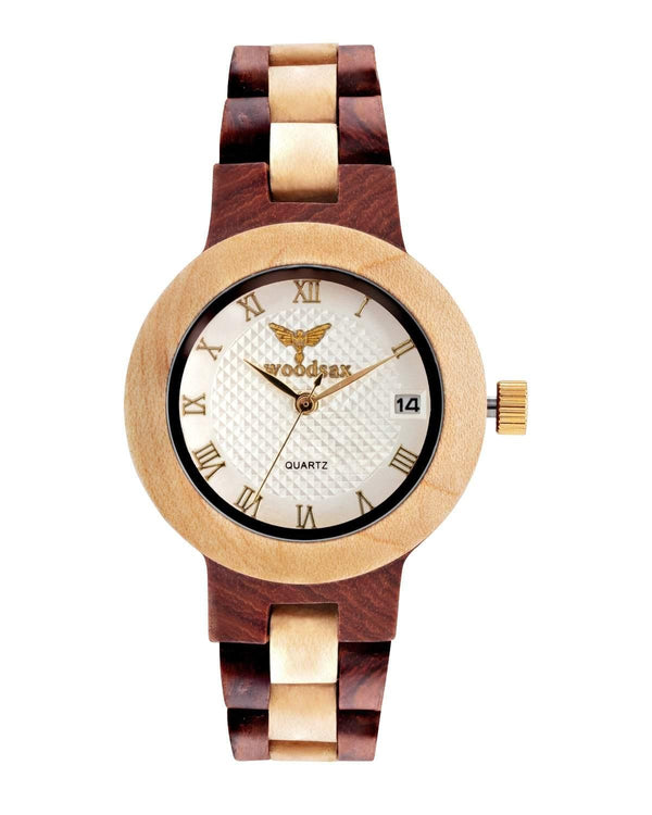Rose Sandal - woodsax- wooden watch gifts for women