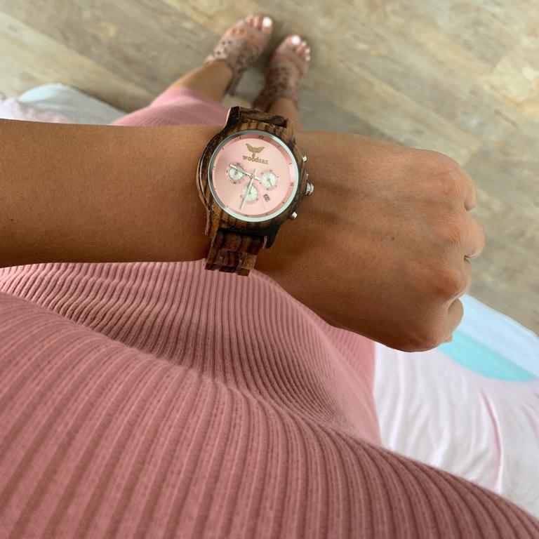 VERSATILE Ladies - women's watches - WOODSAX
