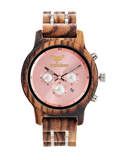 VERSATILE Ladies - wood watches for her - WOODSAX
