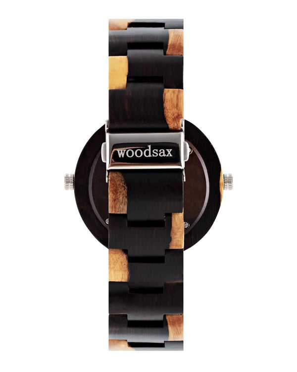 Twotime Blue - wooden watch for men & women