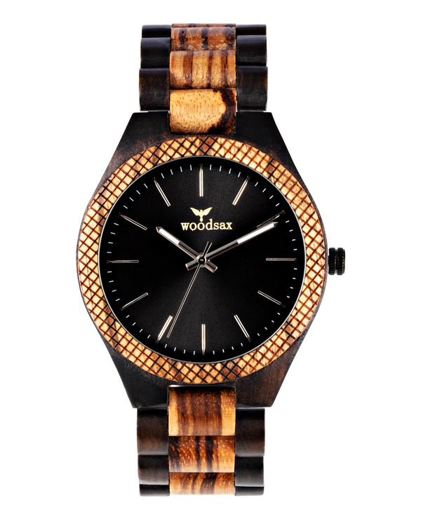 Bayuminous - good quality wooden watch - Woodsax
