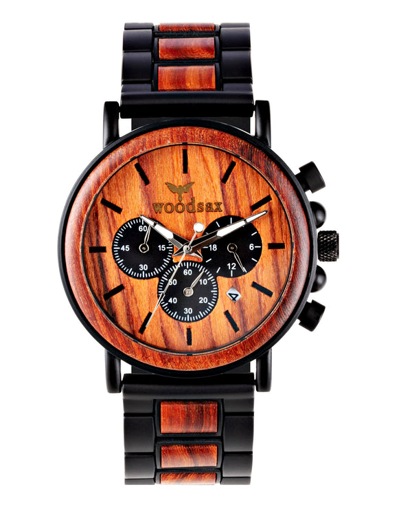 Erkekol sotai - wood watch for men - Woodsax