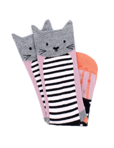 Paris Cat Sock