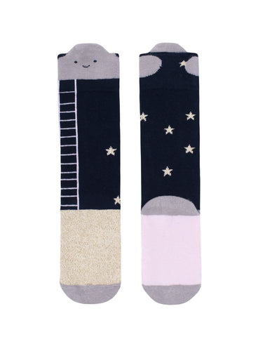 Reach For The Stars Cloud Knee High Socks