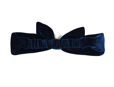 Wish Upon A Star Velvet Tie Head Band