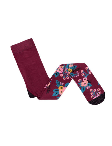 Garden Tights - Plum