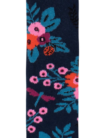 Garden Tights - Navy