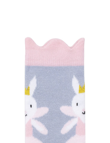 Ballet Rabbit Midi Sock