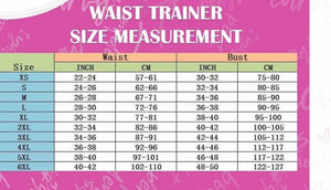 Best Seller Full Coverage Waist Trainer M-6X