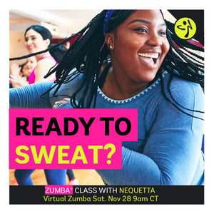 Virtual Zumba & Ab Classes