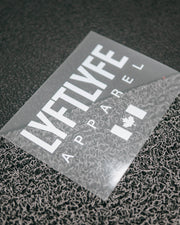LYFTLYFE Signature Decal