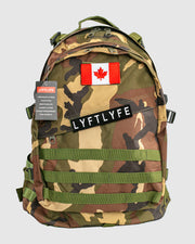 Tactical Backpack - Camo