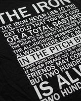 The Iron Men's T-Shirt - Black print