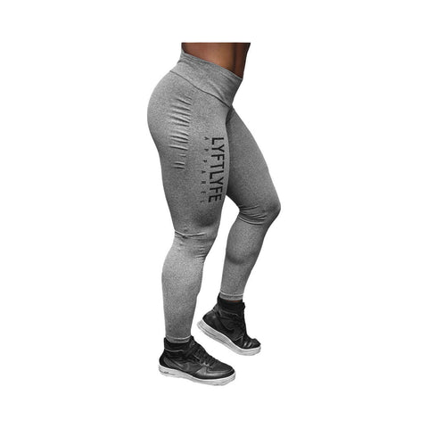 Brazillian Pushup Leggings-Grey