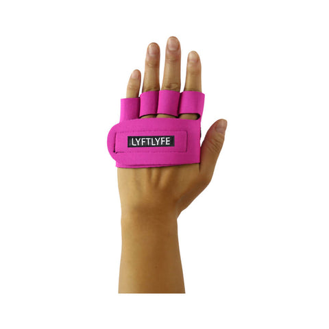 LYFTLYFE Half Palm Gloves-Pink