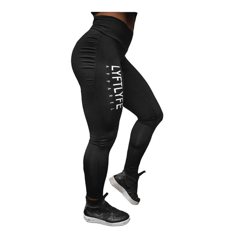 Brizillian Pushup Leggings-Black