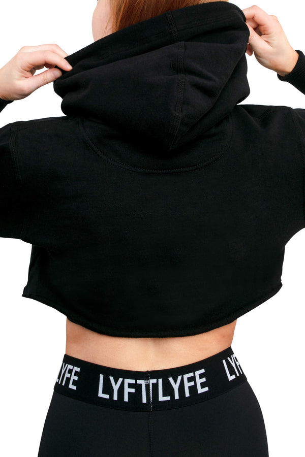 Patched Crops-Black