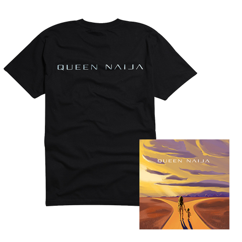 Black Logo T-shirt + Signed Litho with Digital EP