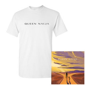 White Logo T-shirt + Signed Litho with Digital EP