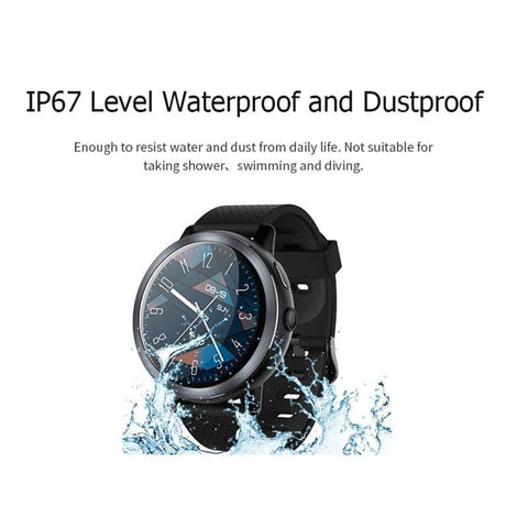 4G Smart Watch Z29 Android 7.1.1 2GB16GB with 2.0 Camera WiFi Fitness Tracker Heart Rate GPS sport Smartwatch Men- ULTRABEAST FITNESS