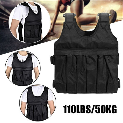 110LBS/50KG Adjustable Exercise Weighted Vest(Empty)- ULTRABEAST FITNESS