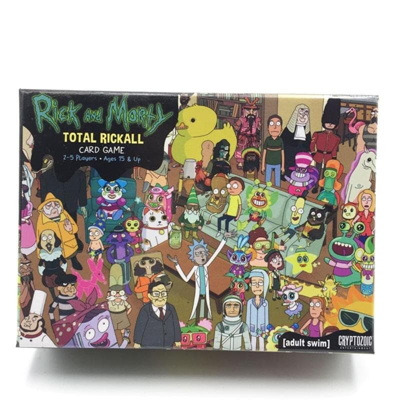 Rick and Morty Cards Game For Adult Total Rickall Cooperative Board Card Game