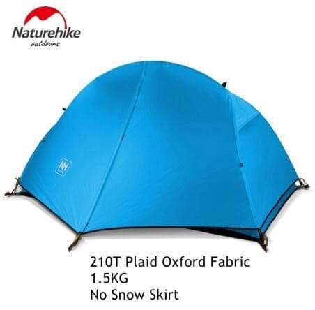 1.3KG Tent 20D Silicone Fabric Ultralight 1 Person Double layered aluminum rod tent- ULTRABEAST FITNESS