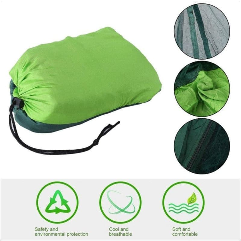 2 person outdoor camping hammock with mosquito net- ULTRABEAST FITNESS
